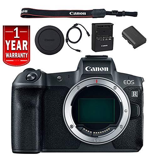 Canon EOS R Mirrorless Digital Camera International Model Ba