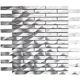 Long Brick Pattern Aluminum Mosaic Tile