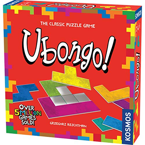 Thames & Kosmos Ubongo - Sprint to Solve The Puzzle   Family Friendly Fun Game   Highly Re-Playable   Quality Components (Made in Germany) ()