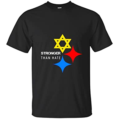 separation shoes f93d0 a3129 Pittsburgh Steelers Stronger Than Hate T-Shirt