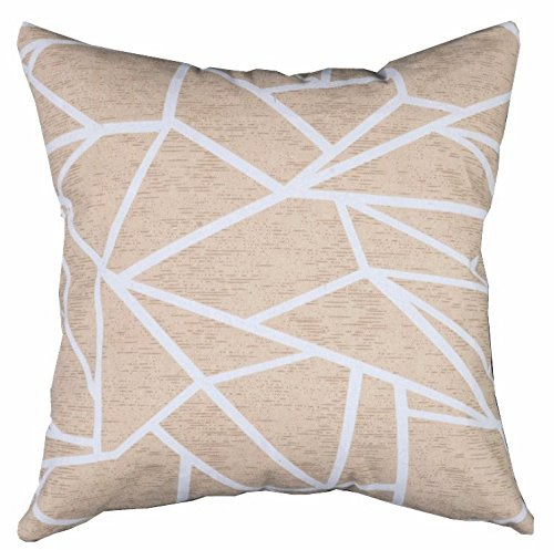 Multi-sized Both Sides Geometric Lines Printing Cushion Cover LivebyCare Linen Cotton Throw Pillow Case Sham Pattern Zipper Pillowslip Pillowcase For Dinning Room Kitchen Chair Back Seat (Plain Throw Pillow Insert compare prices)