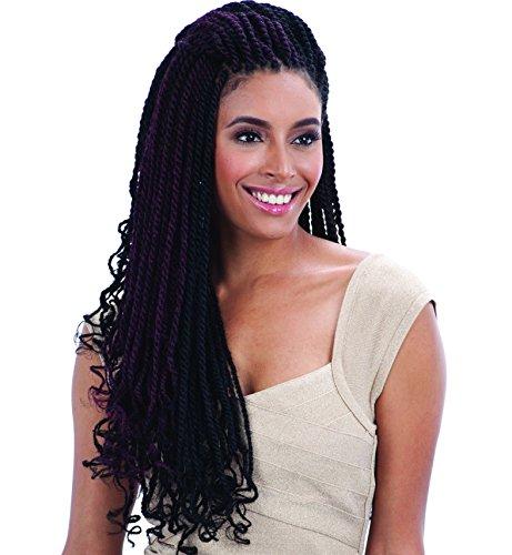 FreeTress Equal Synthetic Hair Braid - CUBAN TWIST 24