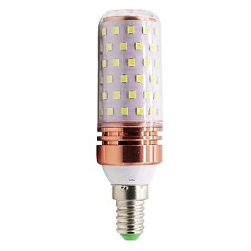 Mengjay - Bombilla led (E14, 12 W equivalentes a 100 W, luz blanca