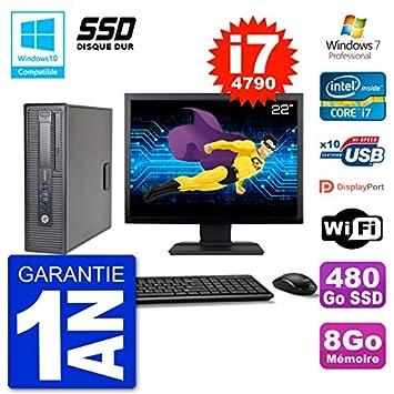 """HP EliteDesk 800 G1 SFF - Ordenador portátil (Pantalla de 22"""" i7-4790"""