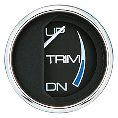 Faria 13707 Chesapeake Black Trim Gauge for Mercury Mariner: Automotive