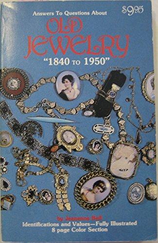 Vintage Costume Jewelry Identification (Answers to Questions About Old Jewelry: