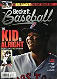 #9: Beckett Baseball Monthly Price Guide Card Value Mag November 2017 Boston Red Sox's Rafael Devers