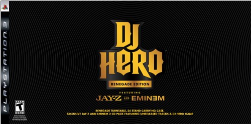 Cases Turntable Consoles (PS3 DJ Hero Renegade Edition Featuring Jay-Z and Eminem)