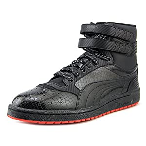 Puma SKY II HI CARBON Men´s Basketball Shoes (14, Black/High Risk Red)