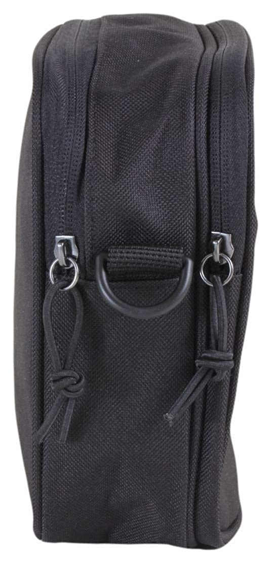 2b303e060954 Lyle   Scott Small Items Side Bag Black BA901A One Size  Amazon.co.uk   Clothing