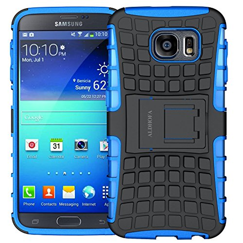 Samsung S6 Case,ALDHOFA Dual Layer Heavy Duty Phone Case,Protective Cover...