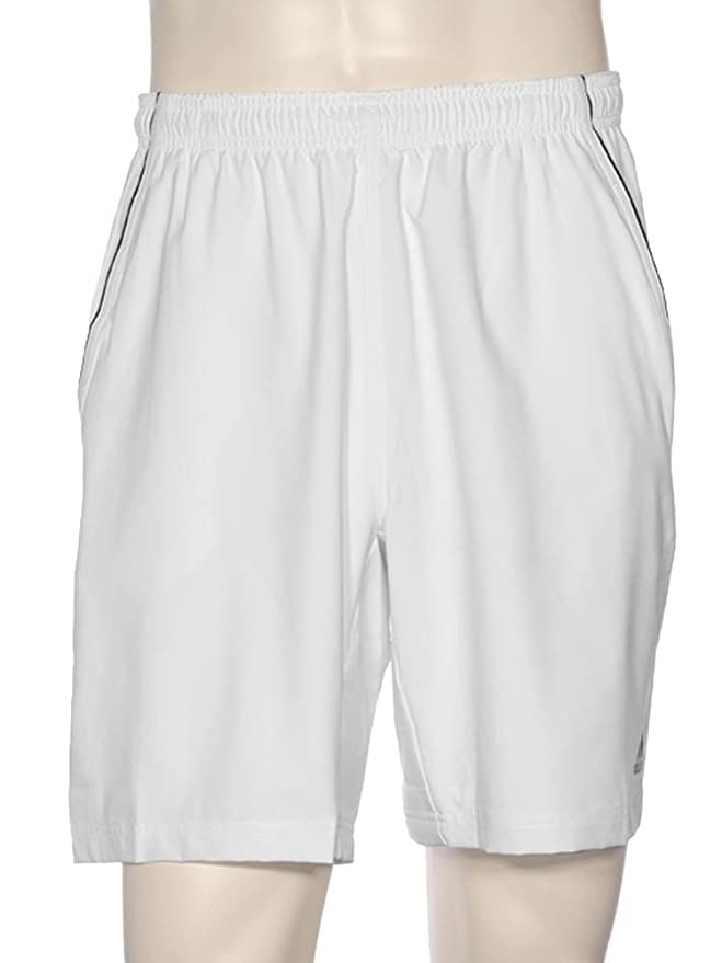 White//black Mens Xl Adidas Tennis Sequentials Short