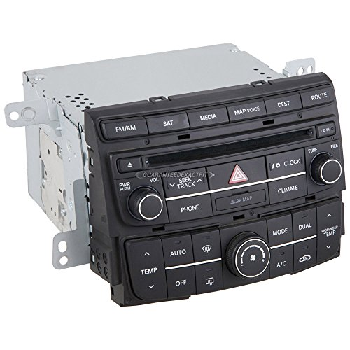 Remanufactured OEM Navigation Unit For Hyundai Sonata w/o HD Radio 2014 - BuyAutoParts 18-60578R Remanufactured