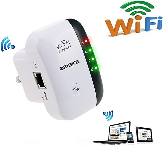 Router 300Mbps Wireless Range Extender WiFi Repeater Signal Booster Amplifier