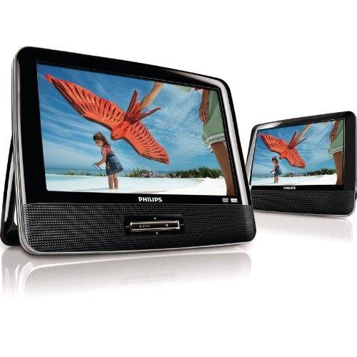 "Philips PD9012/17 9"" Widescreen Portable DVD Player w/Add..."