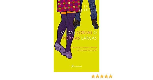 0f9c6a0656 Faldas cortas o piernas largas (Georgia Nicolson)  Amazon.es  Louise  Rennison  Libros