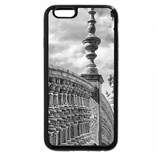 iPhone 6S Plus Case, iPhone 6 Plus Case (Black & White) - Seville Spanish Expo Railings