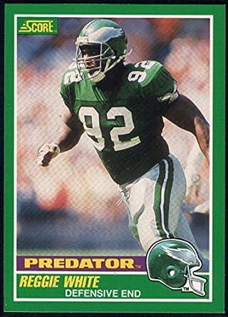 best cheap 78f77 f7ffd Amazon.com: Football NFL 1989 Score #321 Reggie White P ...