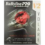 Babyliss Pro BABFV2 Volare Ferrari Designed Professional Luxury Mid Sized Hair Dryer, 2000 Watts, Black