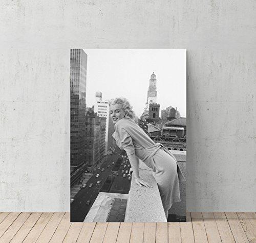 marilyn monroe rooftop poster