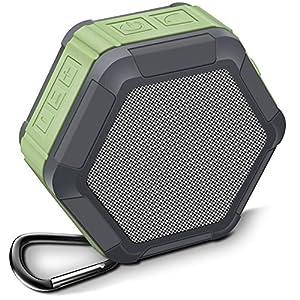 Actionpie Portable Wireless Outdoor Bluetooth SpeakerMY01(Green) Waterproof , Enhanced Bass, Built in Mic,water Resistant,Beach, Shower & Home