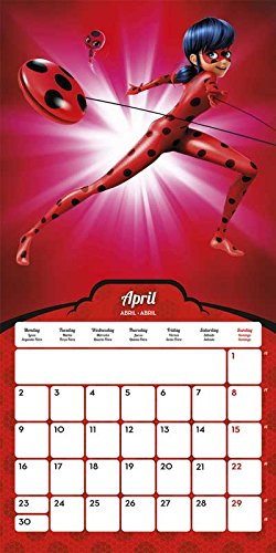 Grupo Erik Editores Calendario 2018 30X30 Ladybug
