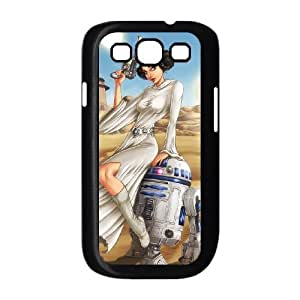 Star Wars R2D2 Samsung Galaxy s3 9300 Black Cell Phone Case TAL857969 Cell Phone Case Sports