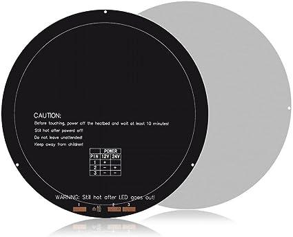 Richer-R Cama de Calor para Impresoras 3D, Caliente Cama para ...