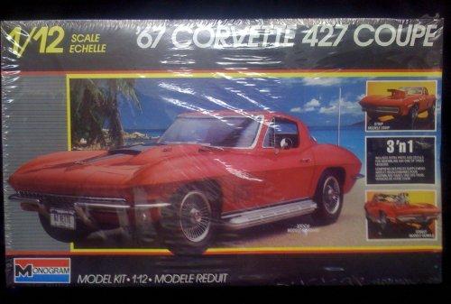 67 Corvette 427 Coupe 1/12 Scale