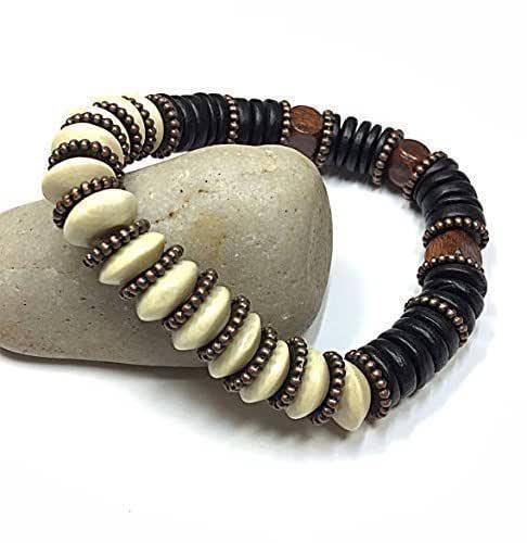 Mens Beaded Bracelet Mens Seed Bead Bracelet Slim Bracelet Thin Bracelet Gift for Boyfriend Gift for Husband Stretch Bracelet Mens Gift idea