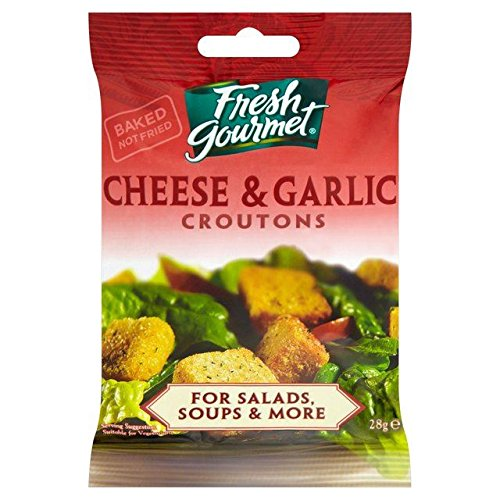 Price comparison product image Fresh Gourmet Cheese & Garlic Croutons - 28g