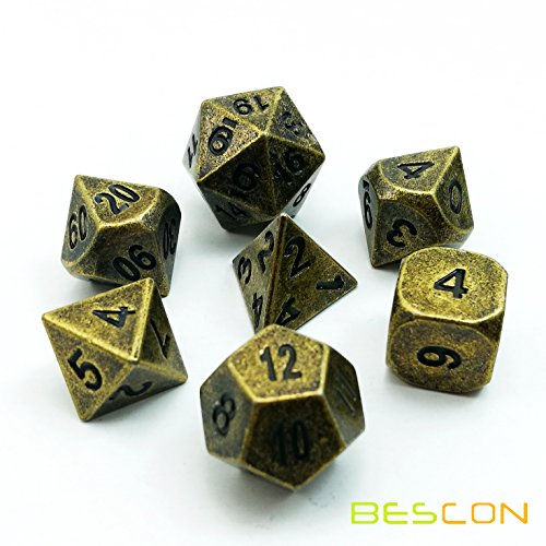 d and d metal dice set - 7