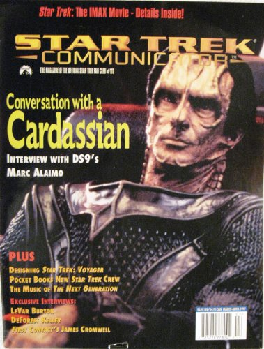Star Trek Communicator V 1 # 111 Mar 1997 Marc Alaimo Burton Kelley - 111 Marc