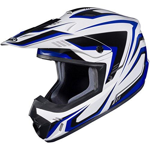 HJC Edge CS-MX 2 Men's Off-Road Motorcycle Helmet - MC-2 X-Large - Edge Motorcycle Helmet