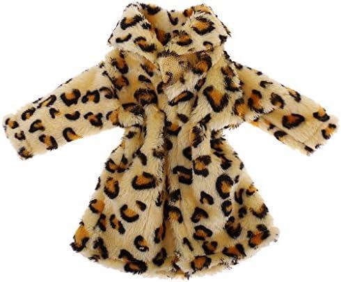 ドールアクセサリー 18インチアメリカンガール人形のため 衣類セット ぬいぐるみ コート 服 冬の服 人形服 全2カラー - 黄