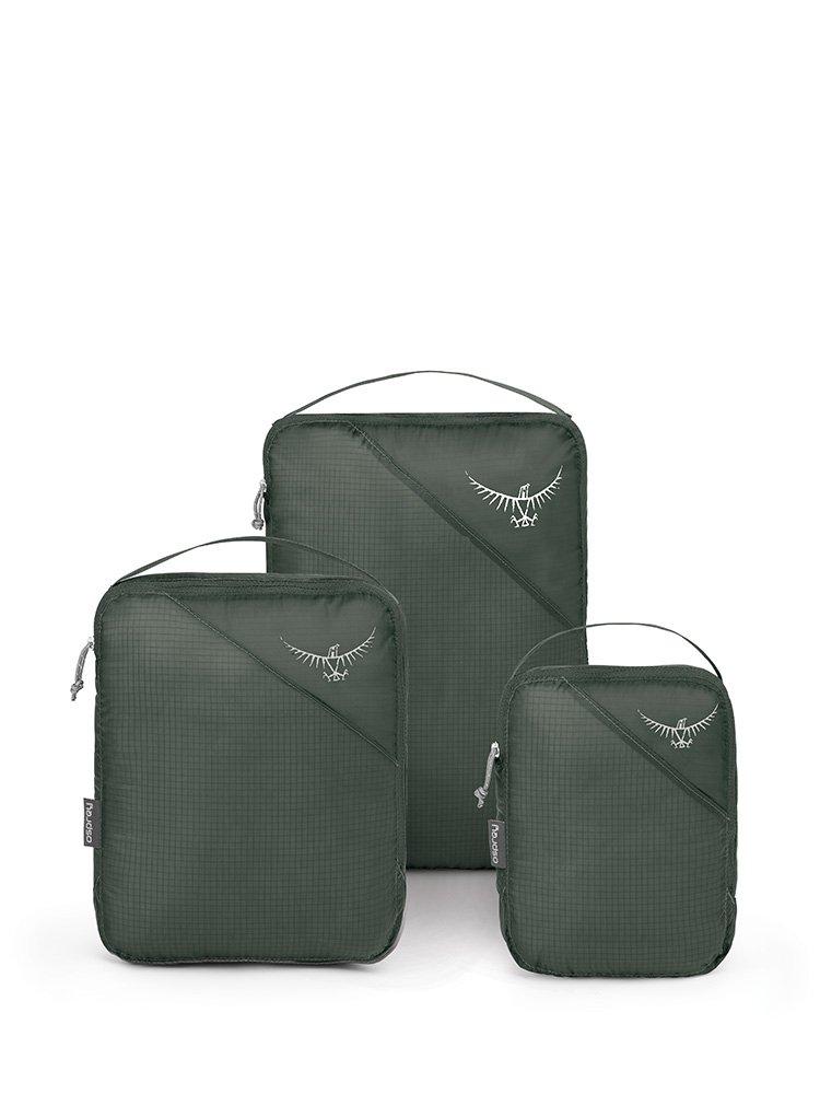 Osprey Packs UL Packing Cube Set, Shadow Grey, One Size by Osprey