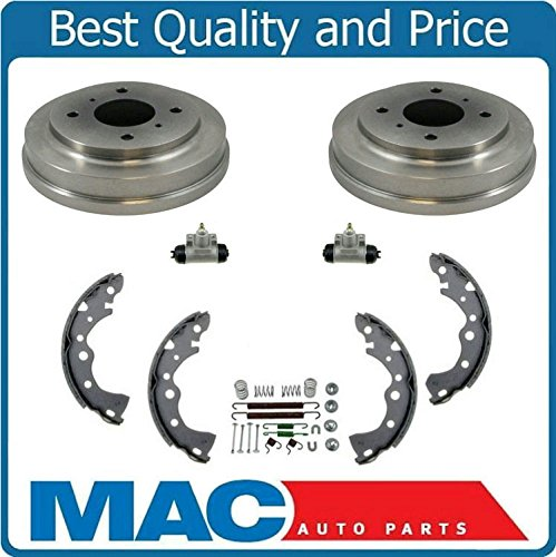- Rear Drums Brake Shoes Springs & Wheel Cylinders for Nissan Sentra 00 to 08/2001