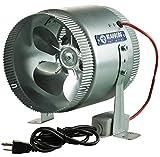 6 inch inline fan hydrofarm - Blauberg Axial Inline Fan, 6-Inch