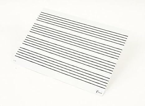 Fuzeau 7535 - Pizarra (22 x 31 cm): Amazon.es: Instrumentos musicales
