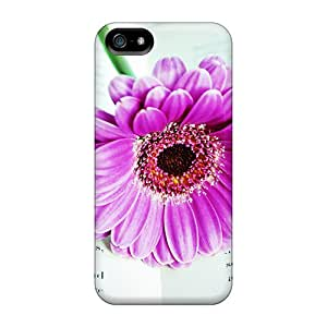 New Flower On The Book Tpu Case Cover, Anti-scratch ULyXkrd8294KxbGW Phone Case For Iphone 5/5s
