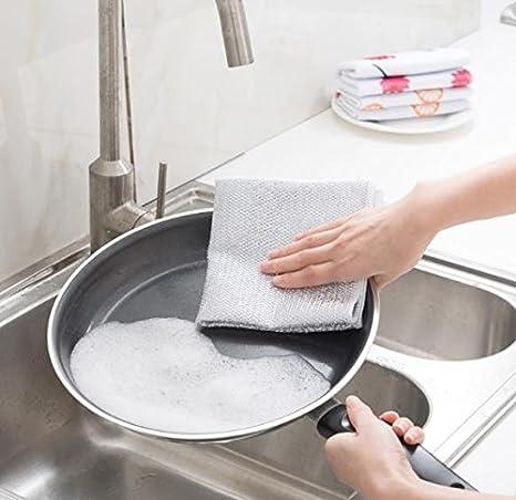 FashionBoutique microfibra limpieza ropa con colores vivos, multifuncional para uso doméstico como, toallas, toallas de baño, coche lavado de ropa: ...