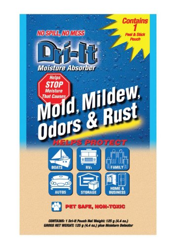 Dri- It MA-1-125-A  Moisture Absorber with Disposable Peel and Stick Backing (Dri Pouches)