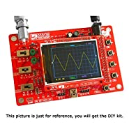 DSO138 2.4 Inch Tft Digital Oscilloscope Kit Diy Parts DIY New Version DSO138 Spare Parts Diy Kit Stm32 Oscilloscope Shell Electronic Training Instrument
