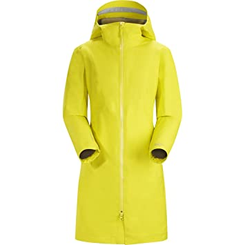 Arcteryx - W Imber - Hinojo - S - para mujer ligero chaqueta impermeable Gore-Tex ® Impermeable: Amazon.es: Deportes y aire libre