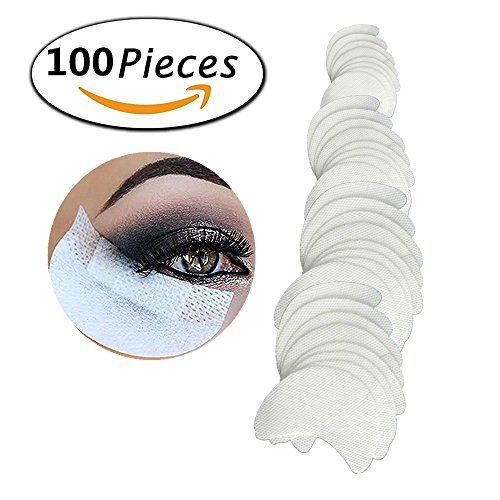 100 Pcs Shadow Shields Under Eye Patches Pads For Eyeshawdow Makeup Eyelash Extension