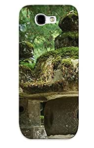 Hot Tpu Cover Case For Galaxy/ Note 2 Case Cover Skin Design - Japanese Temple by icecream design