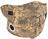 ZANheadgear Neoprene Half Face Mask, U.S. Army Digital Camo