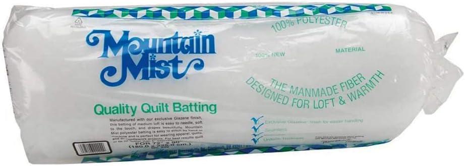 Quilt Batting Twin 72 inch x 90 inch
