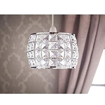 Mode Luxury Living Zara, Clear Crystal Colgante Diseño ...