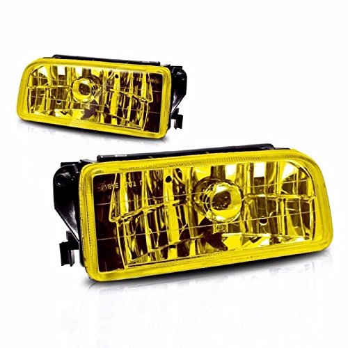 Yellow Lens Fog Light Bumper Lamps Pair For 1992-1998 BMW E36 M3 3 Series New